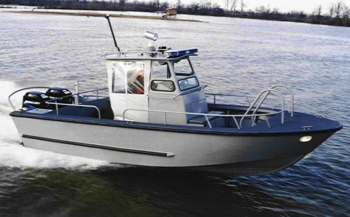 רק החוצה סירות אלומיניום - המחלקה המסחרית YQ-43