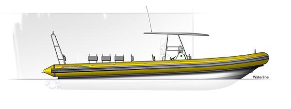 Blue Spirit rib boat Patrol 10m20