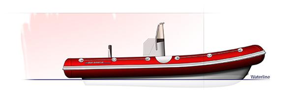 Rib boats Blue Spirit Sport line