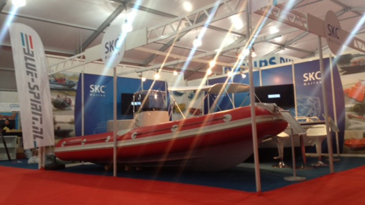 Blue Spirit exhibiting at Istanbul boatshow