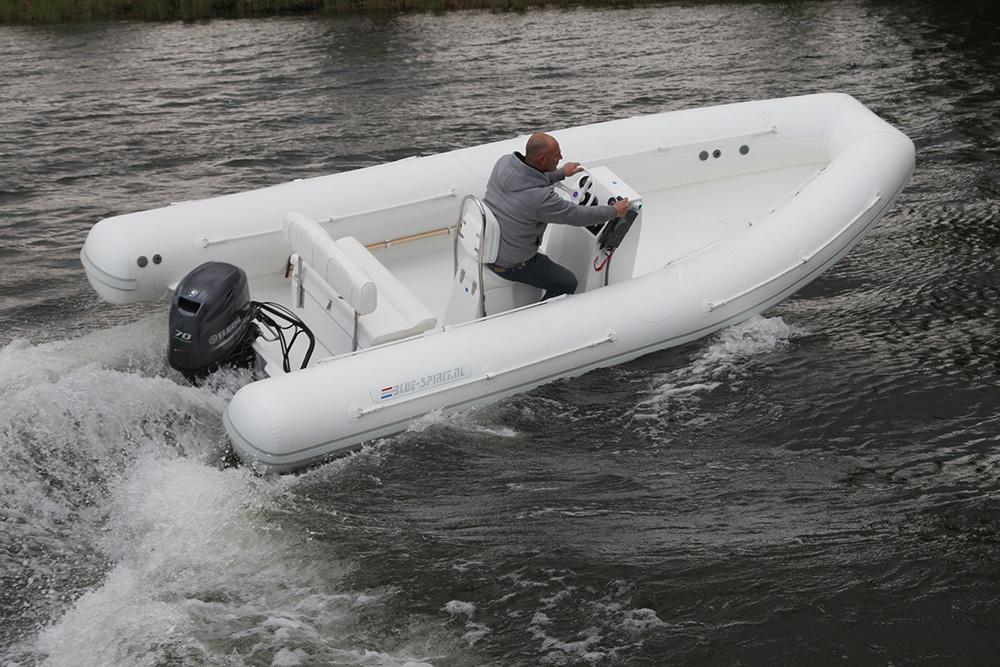 Rib boat Blue Spirit Line