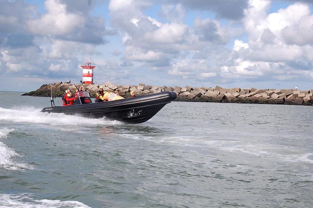 ribb boat Blue Spirit Patrol Line