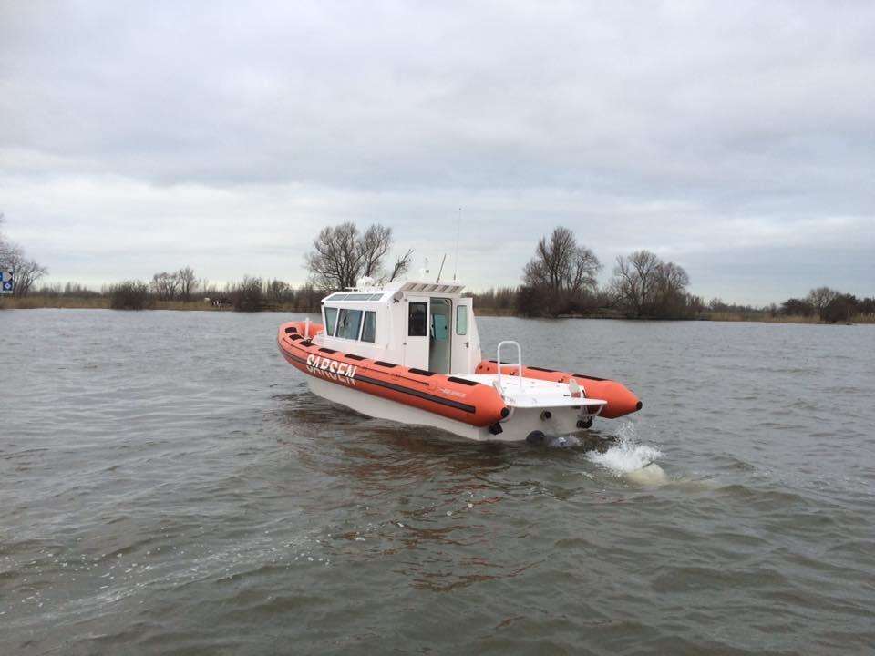 Successful test run Blue Spirit 9m20 Cabin and the Blue Spirit 10m20 yacht